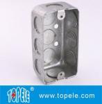 Buy cheap TOPELE 58351 / 58361 / 58371 Galvanized Steel Box Rectangular Handy Box Utility Box product