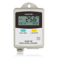 Buy cheap Plastic Material Temperature Humidity Data Logger LCD Display With Internal Sensor product