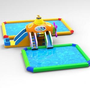 Buy cheap Kids Bounce House Amusement Park Durable Commercial Grade OEM Service product