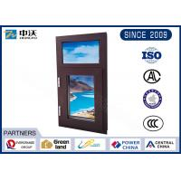 Buy cheap Aluminum Alloy Fire Resistant Windows With Manual Switch High Strength product