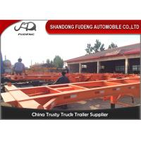 Buy cheap 3 Axle used container semi trailer , 40ft skeletal trailer chassis semi trailer product