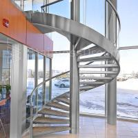 Buy cheap Modern Outdoor Steel Staircase Design Galvanized Spiral Staircase product