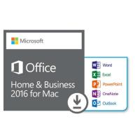 Buy cheap Sticker Microsoft Office For Mac Key Code 2016 Home And Business Mac OS RAM 4 GB product