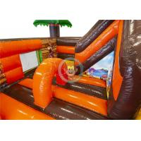 Buy cheap Pirate Outdoor Inflatable Playground Modern Creative Design With Slipery Slide product