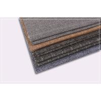 Buy cheap Tartan Plaid Coating Wool Fabric , Double Faced Cashmere Fabric ISO 9001 Certificate product