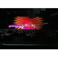 Buy cheap Large Flexible LED Advertising Display / LED Video Display Screen  For Stage Backdrops from wholesalers