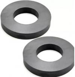 Hard Ferrite Industrial Strength / Durable Round Ceramic Magnets
