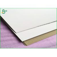 China One Side Coated 300gsm Duplex Board For Light Concrete Grouting Wall , Partition Wall Panel on sale