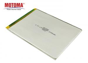 Buy cheap Motoma Batteries 3.7V 2100mAh Rechargable Lithium Polymer Battery 3.0*69*98mm For IOT Devices Customized Batteries product