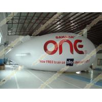 China Inflatable advertising helium zeppelin with UV Protected Printing 0.18mm PVC for opening event, outdoor advertising on sale