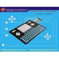 Buy cheap Flat Keypad Membrane Touch Switch For Graphic Plolter IP67 Waterproof product