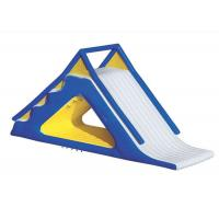 Buy cheap PVC Floating Water Slide Lead Free Stron Structure Dimensional Stable Digital Printing product
