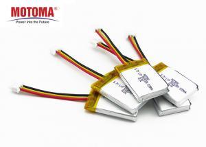 Buy cheap 500 Times Cycle Life Motoma Batteries , 3.7 v 500mah lithium battery For Smart Camera product