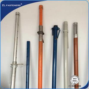 Buy cheap Heavy Duty Adjustable Telescopic Prop , Adjustable Construction Props 120*120*4 product