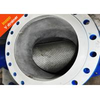 Buy cheap BOCIN Precision Flange Y Liquid Strainer Filter / Steam Purification High Strength product