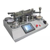 China Universal Martindale Abrasion And Pilling Tester Machine With LCD Control for sale