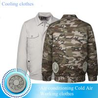 Buy cheap Summer Hot Sell Cooling Heatstroke Suits Fan Overalls Electric Welders Air-conditioning Suits Cooling Clothes for workin product