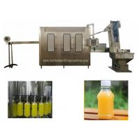 Buy cheap PLC Control Plastic Bottle Automatic Litchi Juice Filling Machine from wholesalers