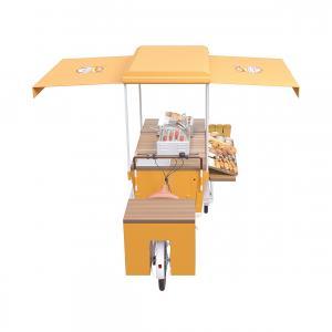 Buy cheap 2500MM Breakfast Wear Resistance Burger Food Cart product