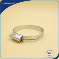 Buy cheap Customized Size Screw Band Worm Gear Hose Clamp Stainless Steel Material product