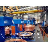Buy cheap continuous casting machine for less than 10ppm copper rod, 8mm~30mm cable and from wholesalers
