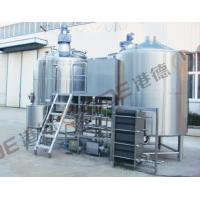 Buy quality Commercial Beer Brewing Equipment , Stainless Steel 40 BBL Brewhouse Steam Heated at wholesale prices