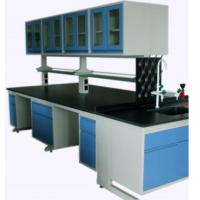Buy cheap Full Steel Laboratory Benches And Cabinets , Lab Desk Furniture With Adjustable Shelf product