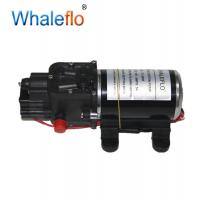 China Whaleflo Micro Electric Diaphragm Water Pump 65 PSI 6L/Min High Pressure Car Washing Spray Automatic Switch and Adapter on sale