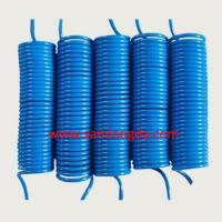 Buy cheap OD12mm PU air coil hose, pneumatic pipe line, Blue color with 100% new PU material, SGS certificates product