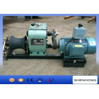 3 Ton Electric Cable Pulling Winch For Underground Cable Installation Project