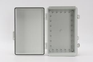 Buy cheap Junction Box Abs Hinged Plastic Enclosures For OT Sensors 300x200x130mm product