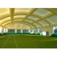 Buy cheap Gymnasium Inflatable Event Tent Customized Logo Puncture Proof With Air Blower Repair Kit product