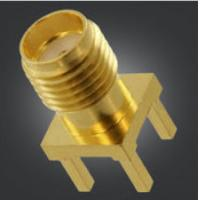 Buy cheap PCB Mount SMA Female PCB Connector SMA Female/ Microwave/Antenna component, product