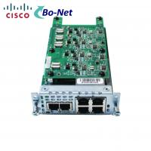 Buy cheap FXS 4 Port Cisco Wan Interface Card ISR 4000 Router Modules FXO NIM-2FXS/4FXOP product
