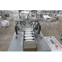 Buy cheap Fish Type Ear Loop Surgical Mask Making Machine , Sealing Non Woven Face Mask Making Machine product