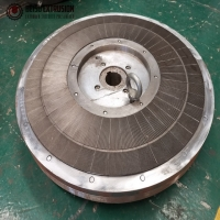 Buy cheap PE Grinding Disc Rotary Fixed Pulverizer Blade product