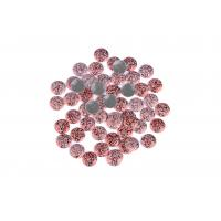 Strong Glue Crystal Hotfix Rhinestones , Sparkles Rhinestones 12 / 14 Facets
