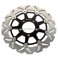Buy cheap 290mm GSXF 750 Motorcycle Brake Disc Brakes GSX 600 F Aluminum Alloy Steel for from wholesalers
