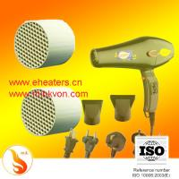 Buy cheap Far Infrared ceramic cellular Heating Element ( honeycomb ptc heaters basis) for Hair Dryer product
