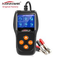 China Digital Car Battery Tester SMT32F103C8T6 Chip Solution 11 Languages With Printer on sale