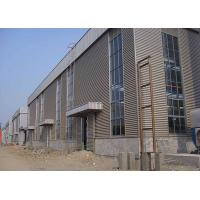 Buy cheap Customized Steel Frame Warehouse , Steel Structure Plant Galvanized Treatment product
