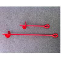 Buy cheap Offset Eye Earth Screw Ground Anchors Galvanized Auger Ground Anchors from wholesalers