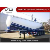 """Buy cheap 50-65 Cubic Meters """"W"""" Shape And """"V"""" Shape Bulk Cement Tank Trailer Selling from wholesalers"""