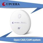 Buy cheap TT White Dental Zirconia Blocks Pre Sintered Zirconial for Zirkonzahn CAD / CAM System product