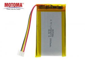 Buy cheap High Capacity Tracking Device Battery 3.7V 2800mah For Telematic Car Tracker product