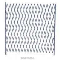 Buy cheap Warehouse Entrance Swing Steel Folding Security Gates 7.5' Opening X 6.5' H product