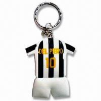 Buy cheap Keychains, Various Styles are Available, Measures 6.5 x 0.4cm, Weighs 22g product