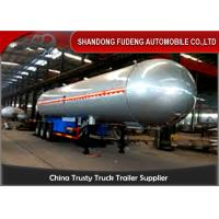 Buy cheap 59700 Liters 25 Ton LPG Tank Trailer With 20% Vapor Space ,  LPG Transport Trailer product