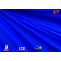 Buy cheap Anti - microbial blue colour polyester spandex fabric for swimwear product