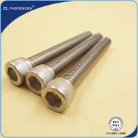 Buy cheap Natural Color Stainless Steel Bolts / Allen bolt DIN912 from wholesalers